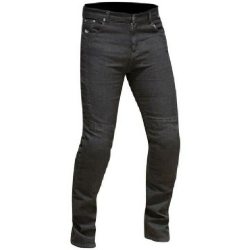 Route One Ladies Olivia Motorcycle Motorbike Jeans - Black - CE Knee Protector